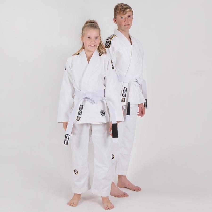Детское кимоно Tatami Nova Absolute White
