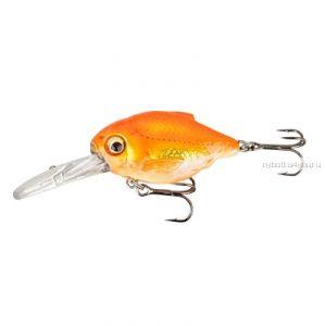 Воблер SavaGear 3D Crucian Crank 46 DR 46мм / 8,3 гр / Заглубление: 1,3 - 1,6 м/ цвет: 02-Goldfish 53780