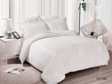 Комплект постельного белья Лен Soft cotton жаккард   семейный  Арт.41/017-SC