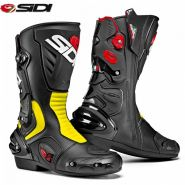 Мотоботы Sidi Vertigo 2, Black/Yellow Fluo