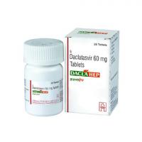 Даклахеп Хетеро Индия (Даклатасвир 60мг)  | Daclahep Hetero Healthcare (Daclatasvir 60 Mg)