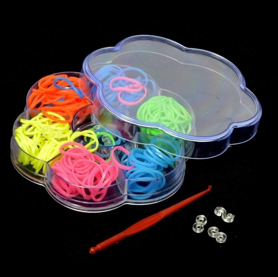 Набор резинок - Цветные твинки  маленький