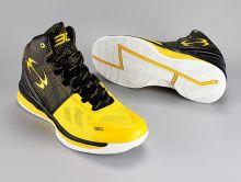 Кроссовки баскетбольные Under Armour Curry 2 желтые черные