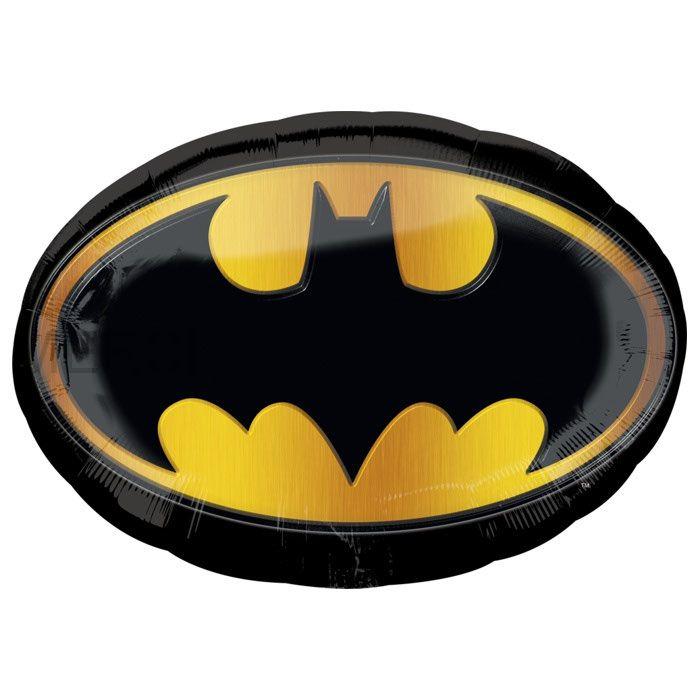 """Шар фигура """"Бэтмен"""" эмблема"""