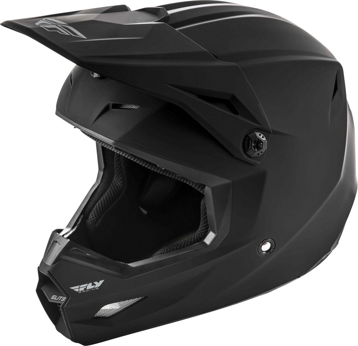 Fly - 2019 Elite Solid Matte Black шлем, черный матовый