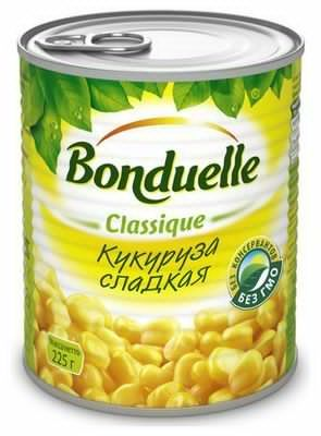 """Кукуруза """"Бондюэль"""" 350мл"""