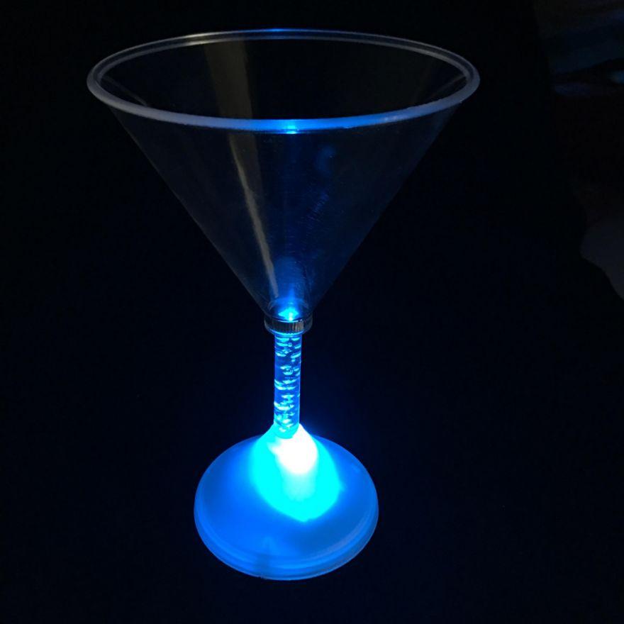 Светящийся бокал для мартини Martini Glass, 1 шт