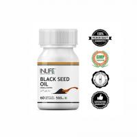 Масло черного тмина (калонджи) в капсулах Инлайф | INLIFE Black Seed (Kalonji) Oil Supplement