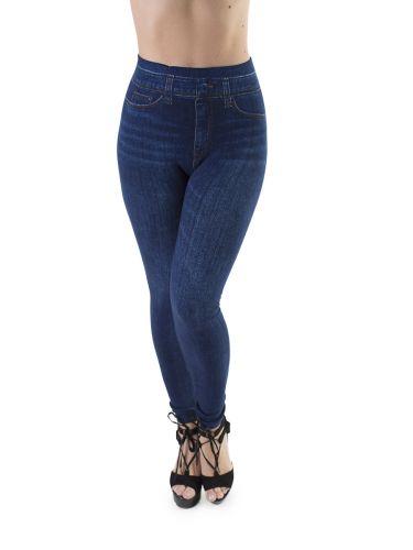 Джеггинсы для женщины теплые, размер 44-48 Ласточка LS025