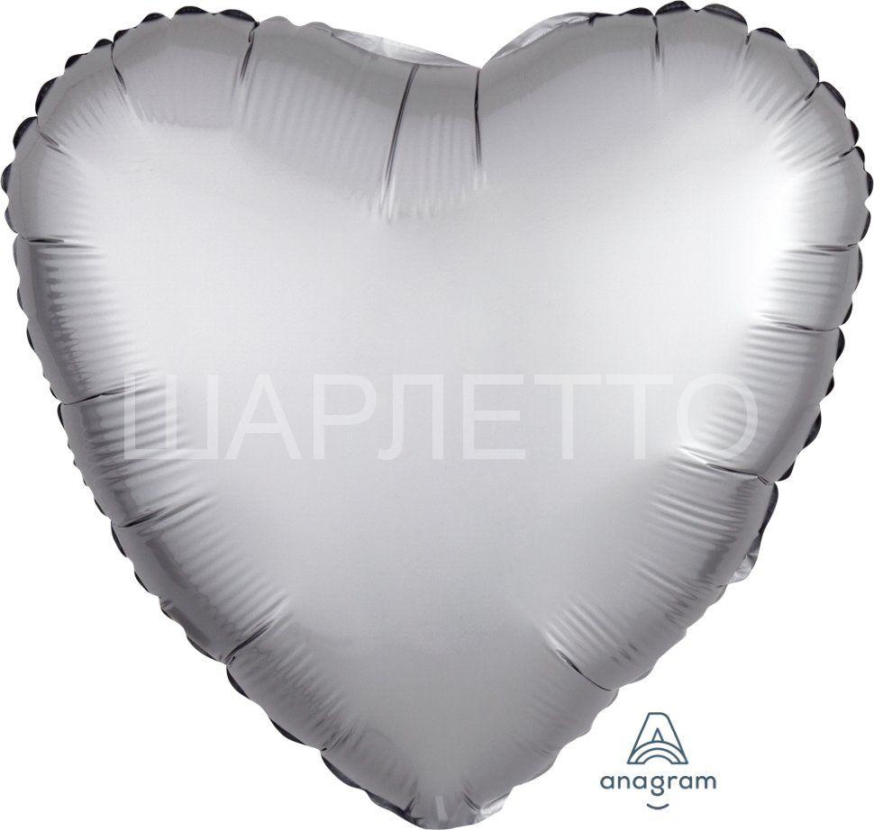 Сердце САТИН ПЛАТИНУМ