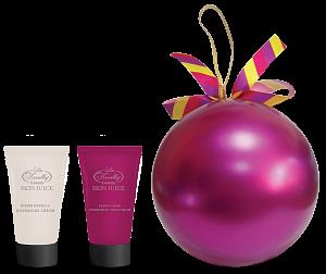 Парфюмерно-косметический подарочный набор Liss Kroully Skin juice Шар (Крем для рук питательный 75 мл + Крем для рук и ногтей 75 мл)