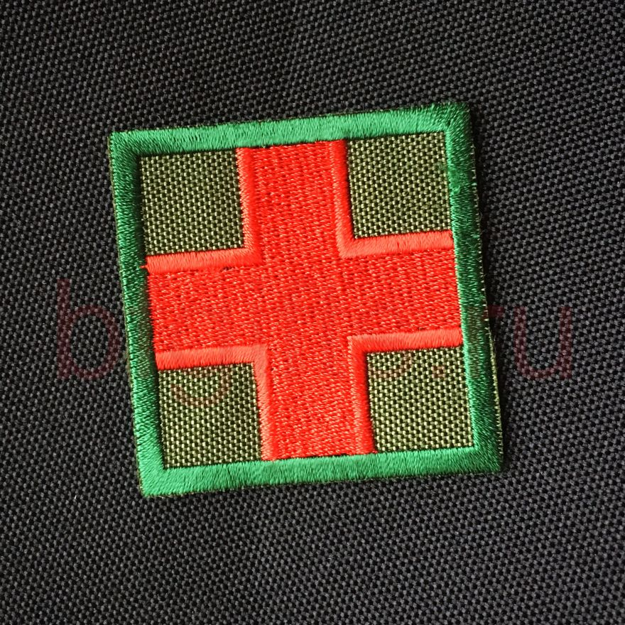 Патч Аптечка зеленый