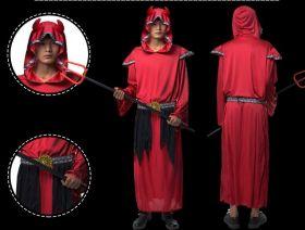 Карнавальный костюм Дьявола красный мужской