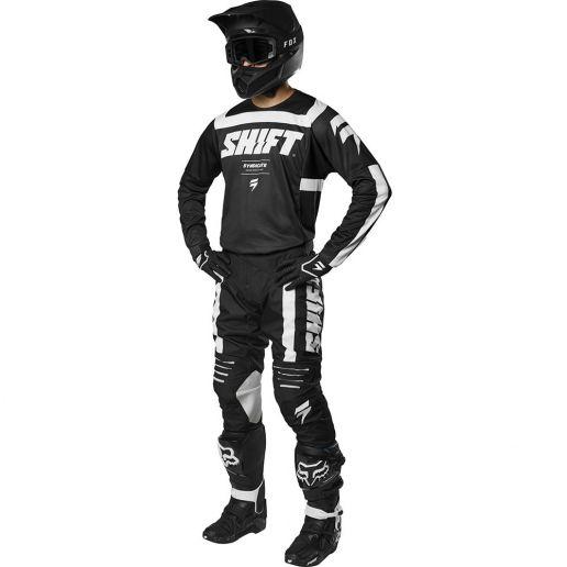 Shift - 2019 3Lack Label Strike Black комплект джерси и штаны, черный