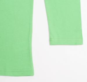 Трикотажный джемпер для мальчика зеленого цвета