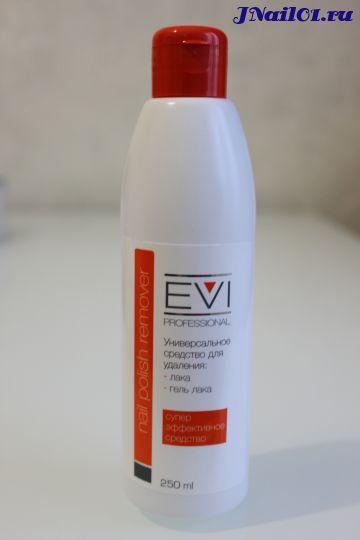 EVI professional, Универсальное средство для удаления лака и гель-лака, 250 мл