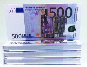 Отрывной блокнот 500 €