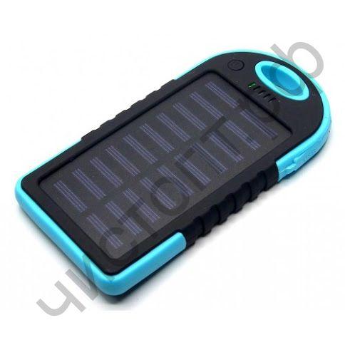Моб. заряд. устрой. CL01 8000 mAh 2USB солнечная батарея фонарик