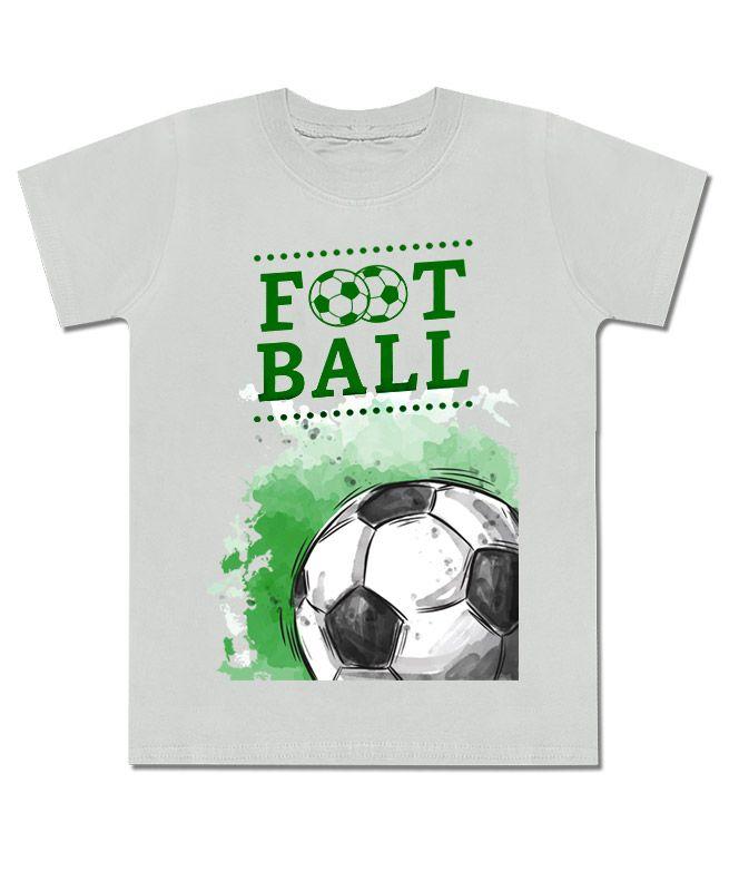 Футболка серая для мальчика