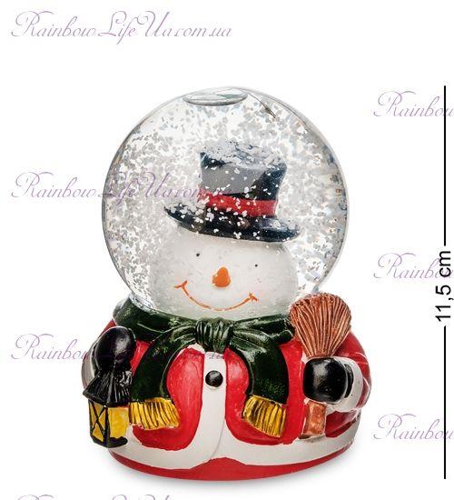 """Шар со снегом муз. с подсветкой """"Подготовка к Рождеству"""""""
