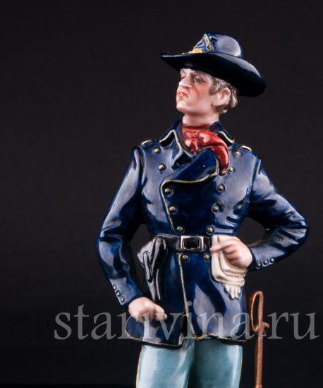 Изображение Американский кавалерист, фабрика Bruno Merli, Италия, сер 20 в.