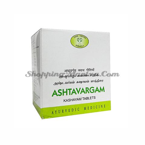 Аштаваргам Кашаям в таблетках AVN (Arya Vaidya Nilayam) Ashtavargam Kashayam Tablets
