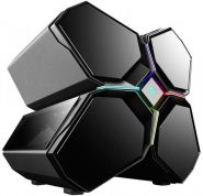 Корпус компьютерный Deepcool  QUADSTELLAR RGB, black