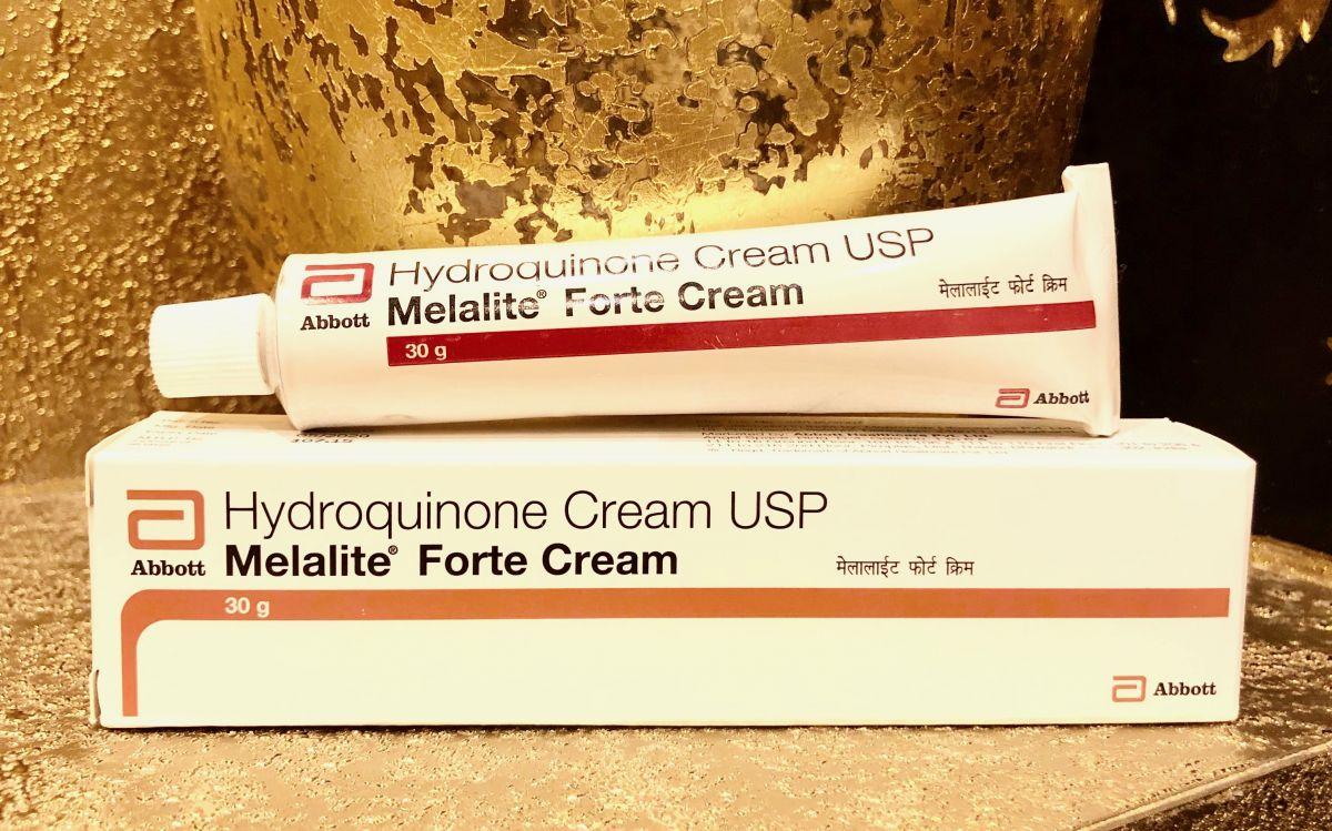 Крем Отбеливающий с гидрохиноном Hydroquinone Cream USP Melalite Forte, 30 г