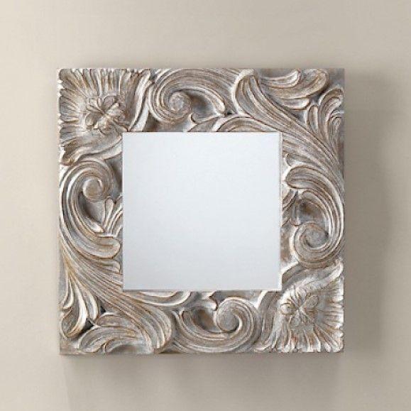 Зеркало в ванную Devon&Devon Little Bloom 73х73 ФОТО