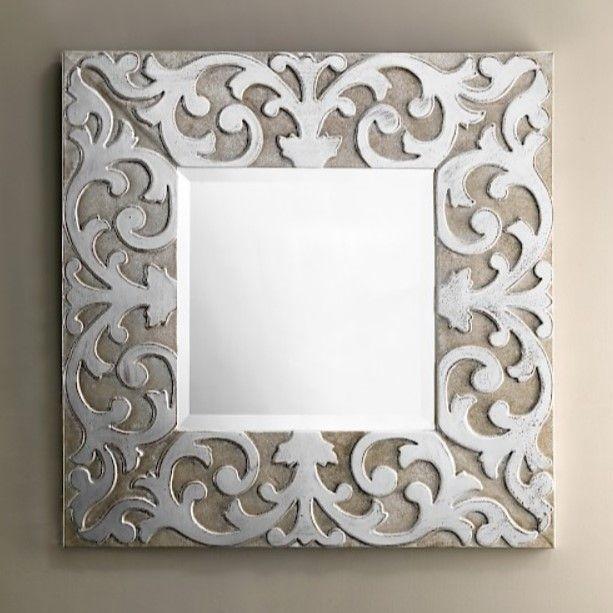Зеркало в ванную Devon&Devon Mainesilver 73х73 ФОТО