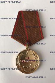 """Медаль """"За Заслуги"""" Афганистан"""