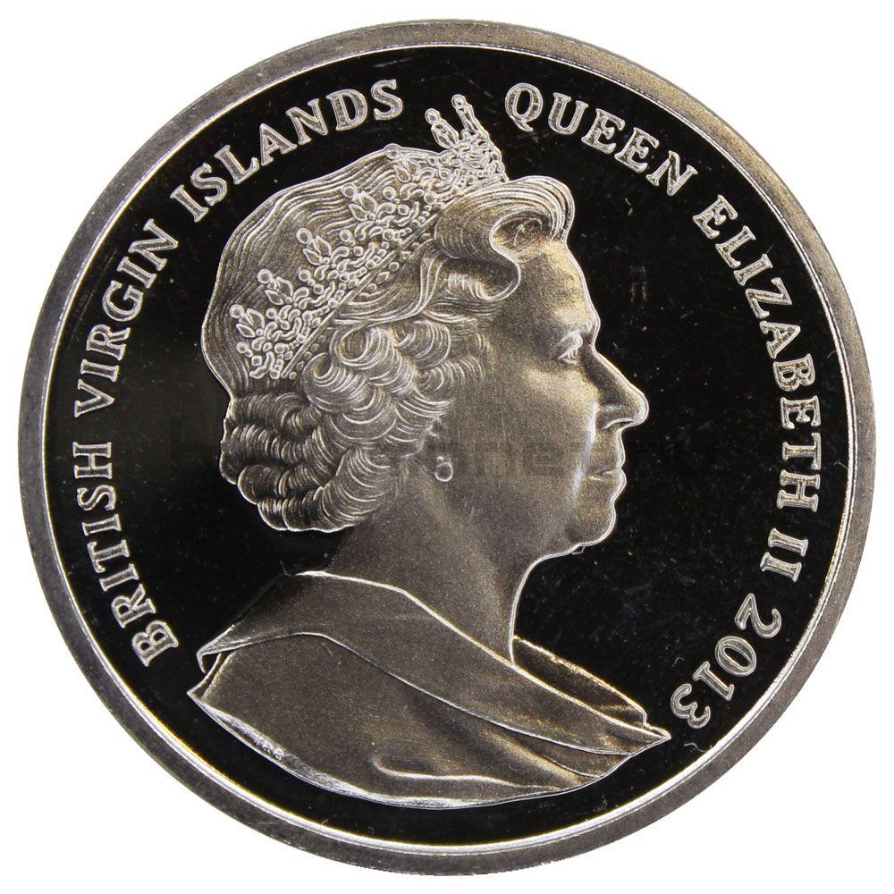 1 доллар 2013 Виргинские острова 10 лет последнему полету Конкорда