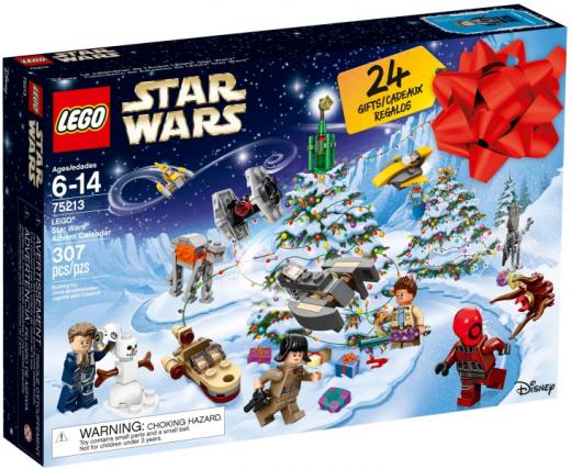 Новогодний календарь Звёздные войны 2018. Конструктор ЛЕГО 75213