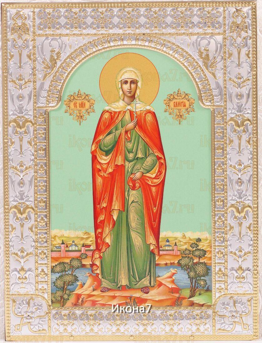 Икона Мученица Валерия (18х24см)