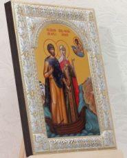 Икона Петр и Феврония Муромские (18х24см)
