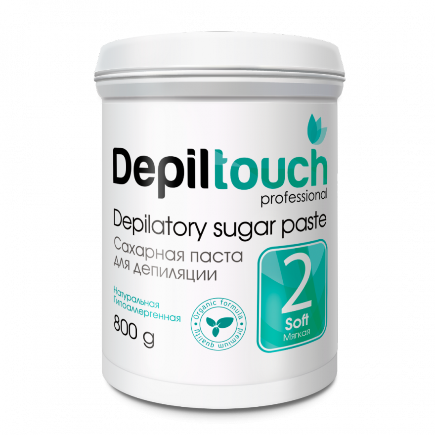 Сахарная паста Depiltouch Professional мягкая 800 гр.