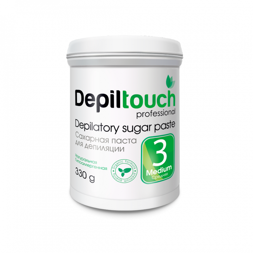 Сахарная паста Depiltouch Professional средняя 330 гр.