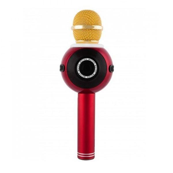 Беспроводной Караоке-Микрофон WS-878, Красный