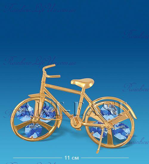 """Фигура велосипед """"Swarovski"""""""