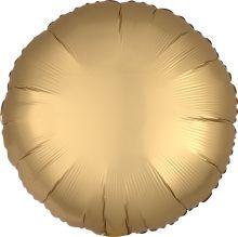 "Круг, золото сатин люкс, 18""/ 48 см, Анаграм"