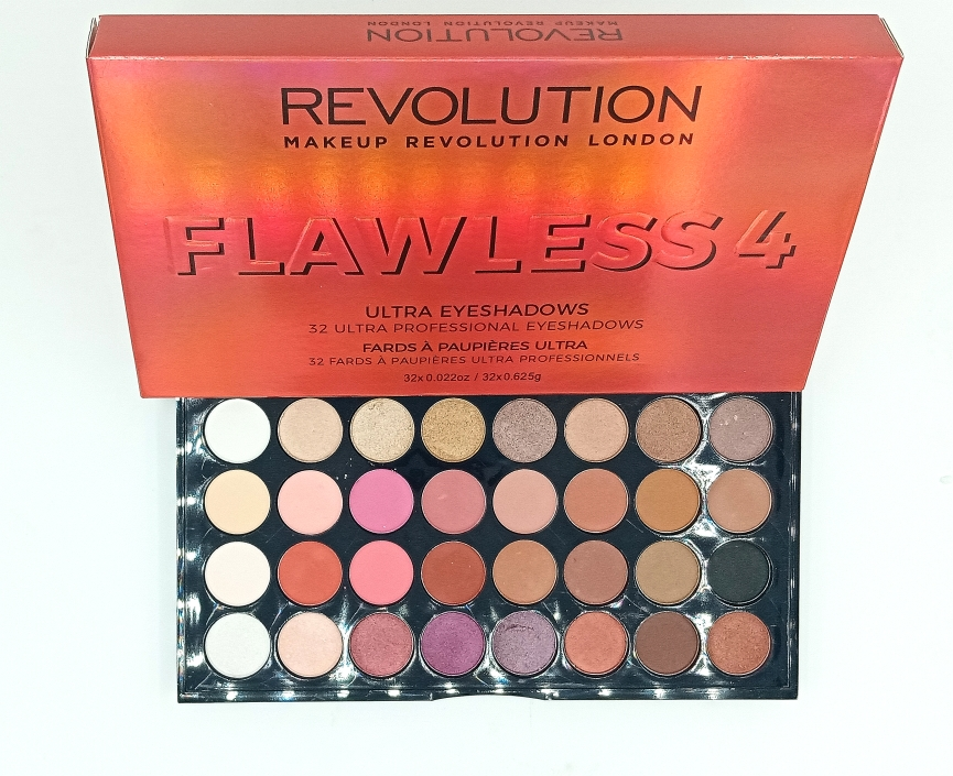 Палетка теней REVOLUTION FLAWLESS4 (13220)