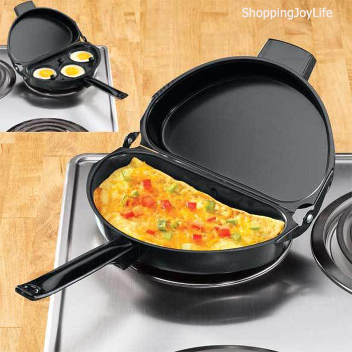 Омлетница с антипригарным покрытием Folging Omelette Pan