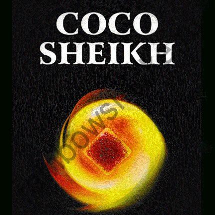 Уголь для кальяна Coco Sheikh Flat (108 шт)