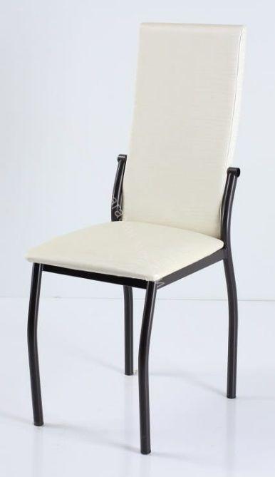 """Кухонный стул """"B-610"""" Снежный бенгал/Коричневый"""