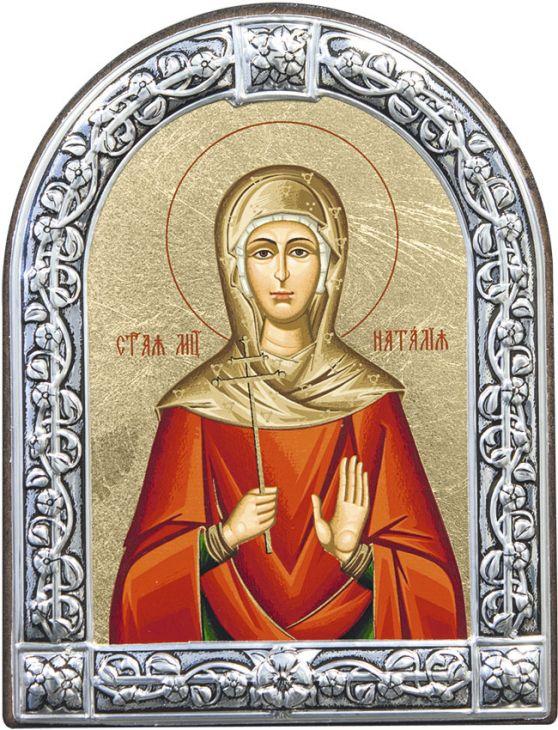 Икона Мученица Наталия (Греция, 13х10 см.)