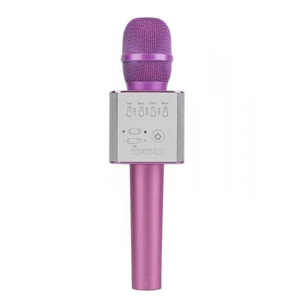 Micgeek Q9 беспроводной микрофон, розовый