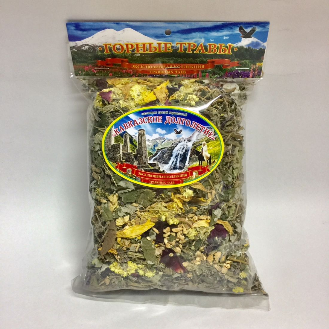 Травяной чай Кавказское долголетие - 100 гр
