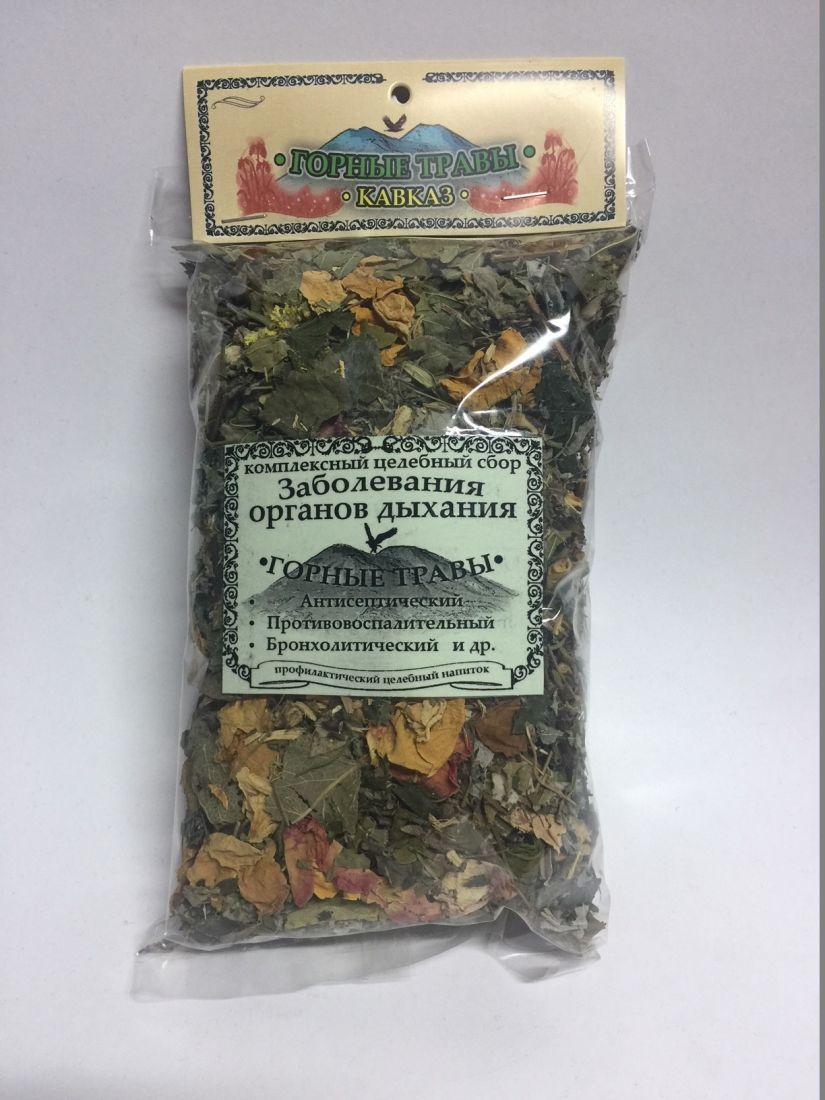 Сбор трав целебный - органы дыхания - 80 гр