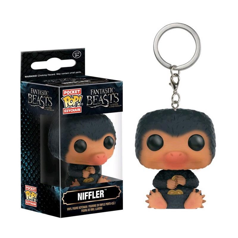 Брелок Funko Pocket POP! Keychain: Фантастические твари (Fantastic Beasts): Niffler 11268-PDQ