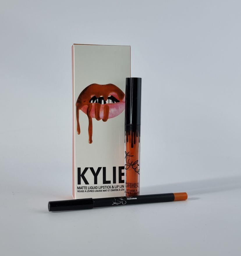 Матовая помада+карандаш Kylie LIPGLOSS(pn)